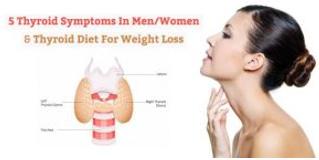 5 Della Tiroide Sintomi Negli Uomini & Donne – Tiroide Dieta Per La Perdita Di Peso