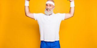Uomini, supplementi, nutrizione, e potenza