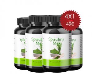 Spirulina Maxi - erboristeria - commenti - ingredienti - come si usa - composizione