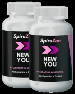 SpiruZen NewYou - ingredienti - composizione - erboristeria - come si usa - commenti