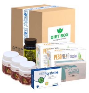 Diet Box - ingredienti - composizione - commenti - erboristeria - come si usa