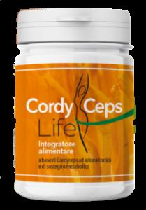 CordyCeps Life - ingredienti - come si usa - commenti - composizione - erboristeria