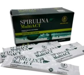 Spirulina MultiACT - erboristeria - come si usa - commenti - ingredienti - composizione